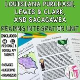 Louisiana Purchase, Lewis and Clark, & Sacagawea- Reading