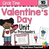 Love - Valentine Centers and Circle Time Preschool Unit