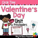 Valentine Preschool Centers and Circle Time
