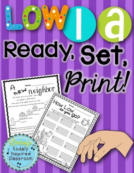 Low La {Ready Set Print!}
