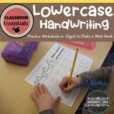 Lowercase Handwriting Workbook