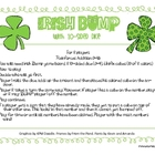 Luck o the Irish Bump with 10-sided dice