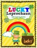 Lucky Leprechaun Math and Literacy Centers