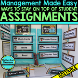 MANAGING STUDENT ASSIGNMENTS & PROJECTS - Blackline Design