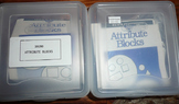 MARKED WAY DOWN!!!  2 Sets of Attribute Blocks w/Teacher Guide