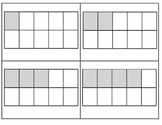 MATH/ COUNTING  1 - 20 * using ten frames