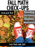 MATH Common Core - Fall Math worksheets for 2nd and 3rd grade