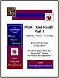 "ENTREPRENEURSHIP ""MBA  Part I"" -  Professionally Printed M"