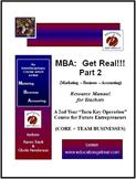 "HARD GOOD + CD (Entrepreneurship): MBA PT 2 ""Grow a Studen"
