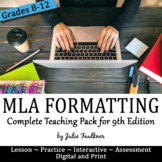 MLA In-Text Citations & Works Cited Complete Teaching Pack