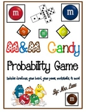 M&M Candy Probability Game! (Great Center or Workstation!)