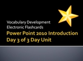 MS Academy PowerPoint Introduction Unit Day 3 of 3