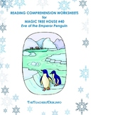 MTH40 Eve of the Emperor Penguin Worksheets