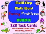 MULTI STEP WORD PROBLEMS BUNDLE. MATH: All Operations, 128