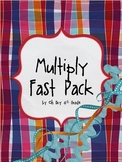 MULTIPLY FAST...timed multiplication facts
