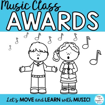 MUSIC AWARDS *EDITABLE *PRINTABLE *Easy to Use