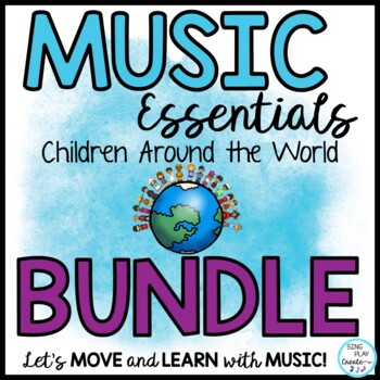MUSIC CLASS MEGA BUNDLE SONGS & DECOR WORLD THEME GAMES, P