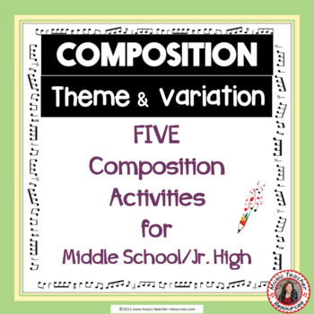 Composition Task: Theme and Variation
