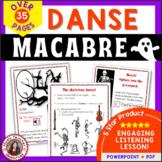 Danse Macabre PPT & Worksheets Grades 5-8