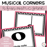 MUSIC - Music Game FREEBIE- Corners