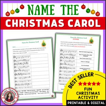MUSIC: Name the Christmas Carol