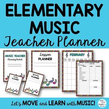 MUSIC TEACHER PLANNER *LESSONS *CONCERTS *WEEK *MONTH *QUA