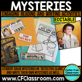 MYSTERY GENRE UNIT (Engaging Reading and Writing Activitie