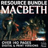 Macbeth Literature Guide - Complete Lesson Plans, Bundle f