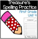 Macmillan/McGraw-Hill Treasures Unit 4 Spelling Practice F