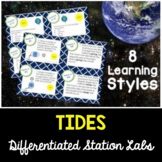 Seasons and Tides - Differentiated Science Station Labs