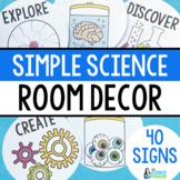 Mad Scientist Room Decor