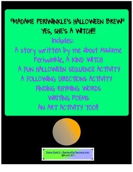 Madame Periwinkles Halloween Brew