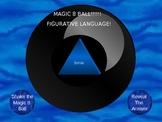 Magic 8 Ball - Similies, metaphores, idioms