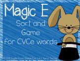 Magic E - A Short Vowel and CVCe Game