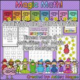 Magic Math: Timed Tests and Activities for Math Fact Mastery