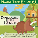 Magic Tree House #1 Dinosaurs Before Dark Idea Organizers