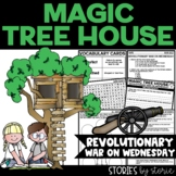 Magic Tree House #22 Revolutionary War on Wednesday Book Q