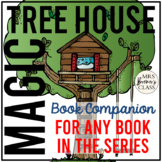 Magic Tree House Book Companion Novel Study {for ANY book