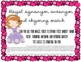Magical Semantics: Synonym, Antonym and Rhyme Activity