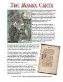 Magna Carta Common Core Reading Worksheet