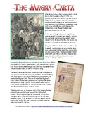 Magna Carta Common Core Reading Worksheet