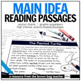 Main Idea Comprehension Passages: Animals & Habitats