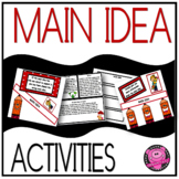 MAIN IDEA/ SEQUENCING/PRINT AND GO ACTIVITY