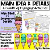 Main Idea & Support. Details MEGA-BUNDLE: Craftivities, PP