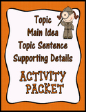 Main Idea – Supporting Details Activity Packet {Common Core}