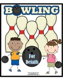 Main Idea and Details:  Bowling for Details Game