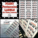Piano Pentascales Labels