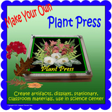 Make Your Own Plant Press (Included in Rainforest: Maps, M