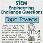 Make Your Own STEM Engineering Challenge Questions Pack~ TOWERS