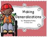 Making Generalizations